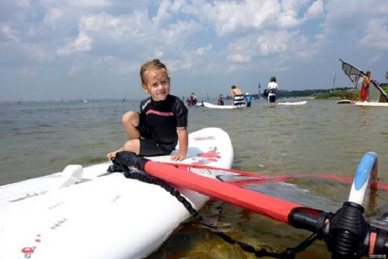 Kursy windsurfingowe dla dzieci