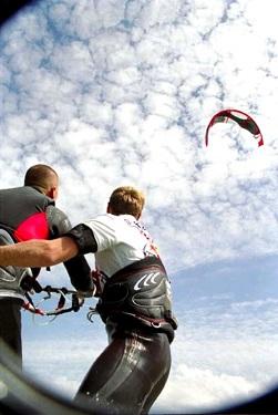 Lekcje kitesurfingowe