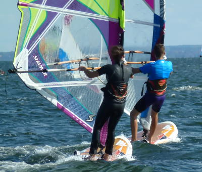 Kurs windsurfingowy | Nauka windsurfing Hel - obozy, szkoła